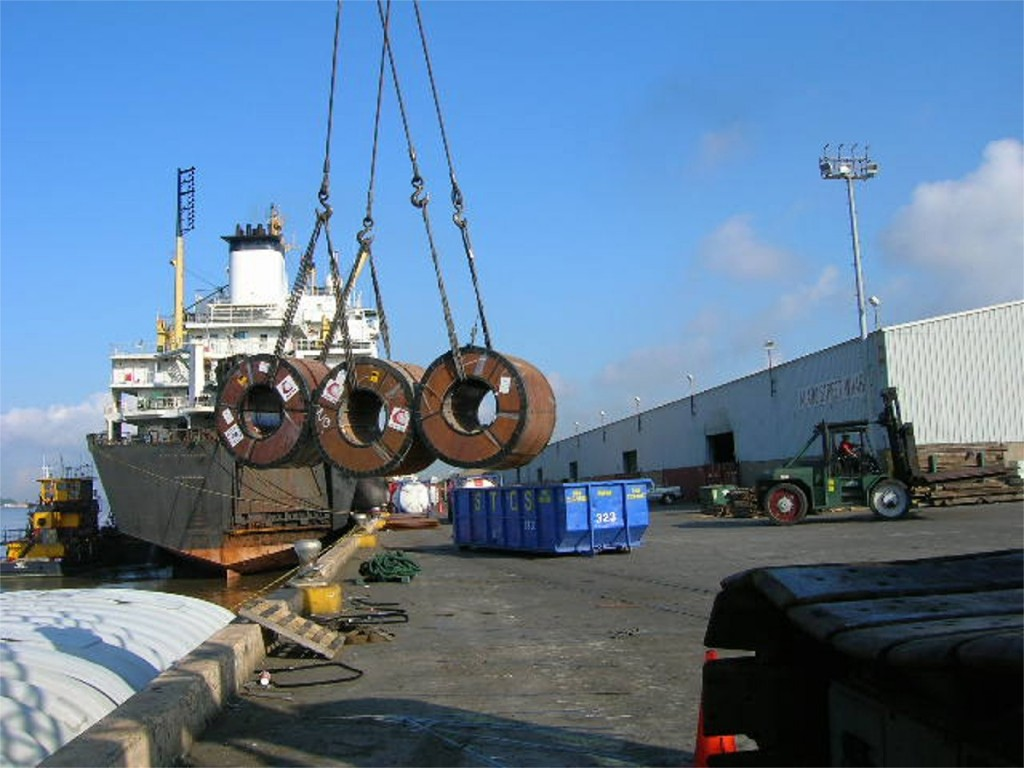 Cargo-discharge